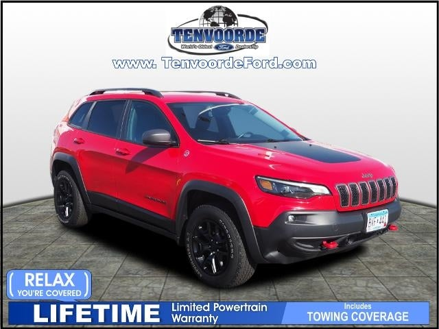 Used 2019 Jeep Cherokee Trailhawk Elite with VIN 1C4PJMBX2KD268122 for sale in Saint Cloud, Minnesota