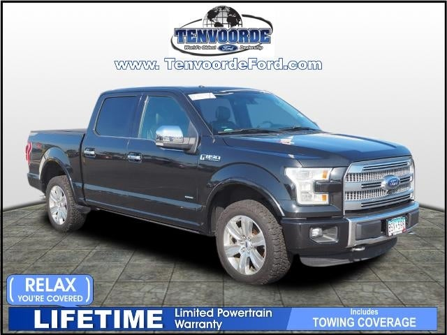 Used 2015 Ford F-150 Platinum with VIN 1FTEW1EG2FFB23756 for sale in Saint Cloud, Minnesota