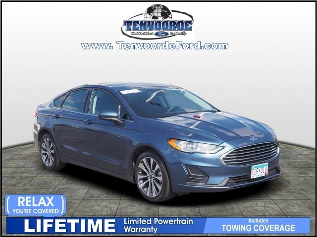 Used 2019 Ford Fusion SE with VIN 3FA6P0T91KR149400 for sale in Saint Cloud, Minnesota